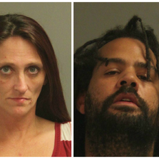 43-year-old Yavonne Lynne Stewart, of Odenton, Md., and 33-year-old Antron T. Bulow, of Severn, Md., were charged with drug possession, drug possession with intent to distribute, and drug paraphernalia charges.