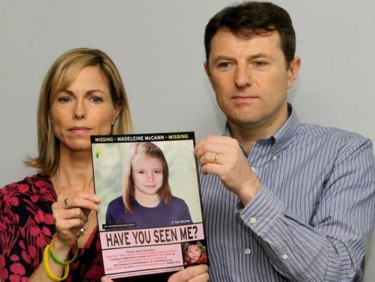 Britain Missing Girl