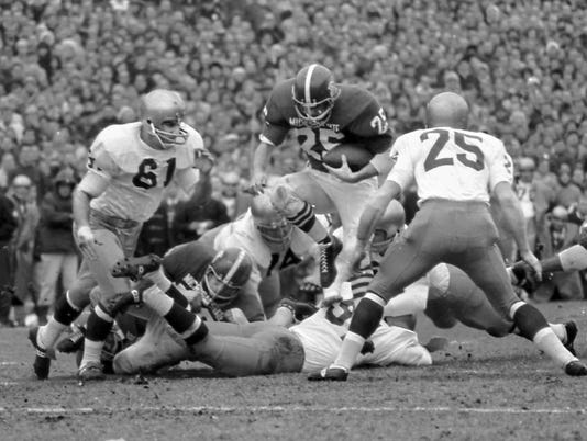 """Game of the Century"", MSU 10, Notre Dame 10, Nov. 19, 1966"