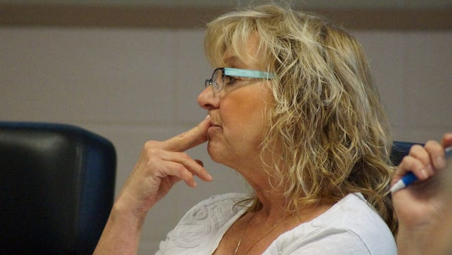 Lorraine Zellers, a Rehoboth Beach commissioner who supports limiting the use of residential pools by vacationers in rented homes.