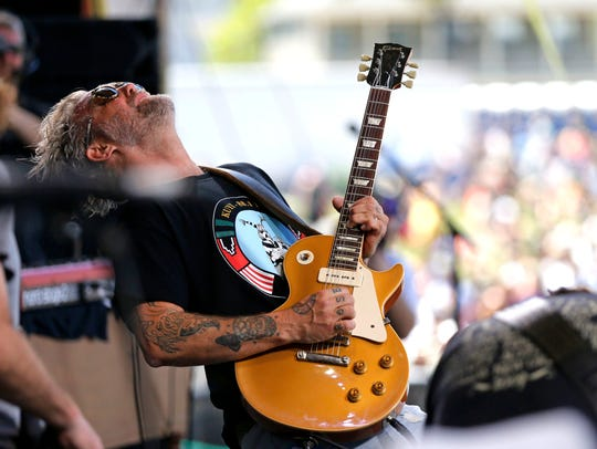 Anders Osborne performs at the New Orleans Jazz and