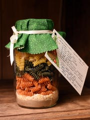 A soup mix in a jar is among the fun, quirky entries one can see while visiting the Baxter County Fair this week.