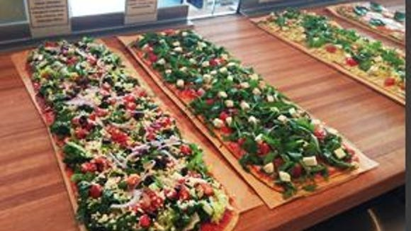 Thin is in at Jules, where unusual toppings and vegan/vegetarian