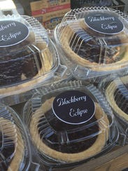 The Willamette Valley Pie Company is selling blackberry