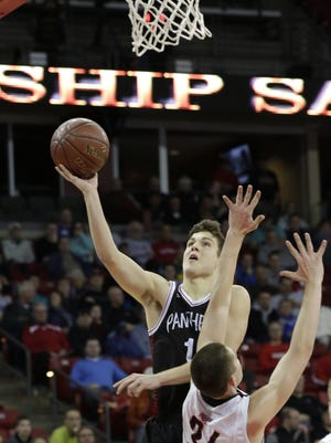 Stevens Point senior and University of Wisconsin-Green Bay recruit Trevor Anderson was named state player of the year on The Associated Press boys basketball all-state team.