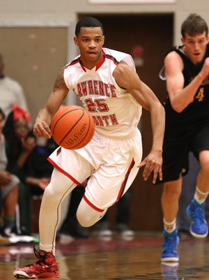 Marion County coaches named Lawrence North's Pat Bacon their player of the year.