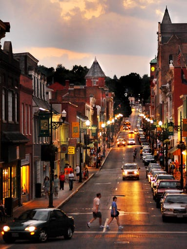 Idyllic And Historic Main Streets Across The Usa