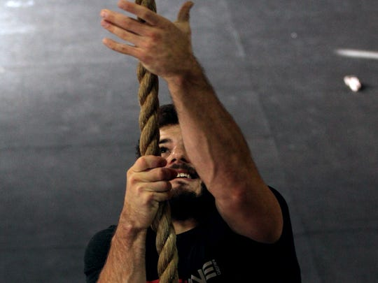 Colchester native Mathew Fraser finished second in the world CrossFit Games in July. He trains at Champlain Valley Crossfit in Williston.