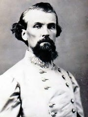 Confederate Army Lt. Gen. Nathan Bedford Forrest
