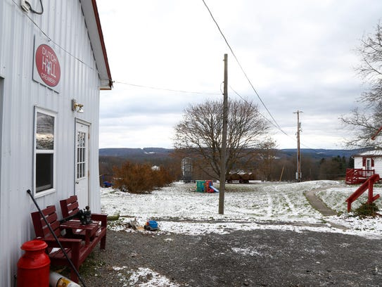 Dutch Hill Creamery in Chenango Forks on Monday, November