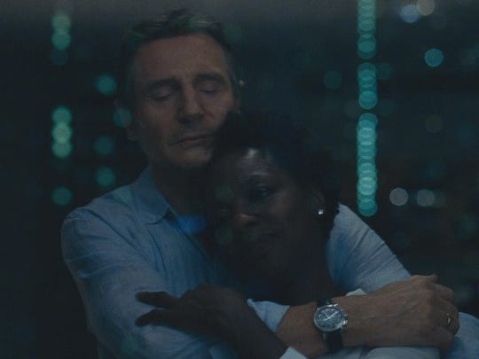 """Widows,"" which includes Viola Davis and Liam Neeson in its stacked cast, promises a ""blistering, modern-day thriller set against the backdrop of crime, passion and corruption."""