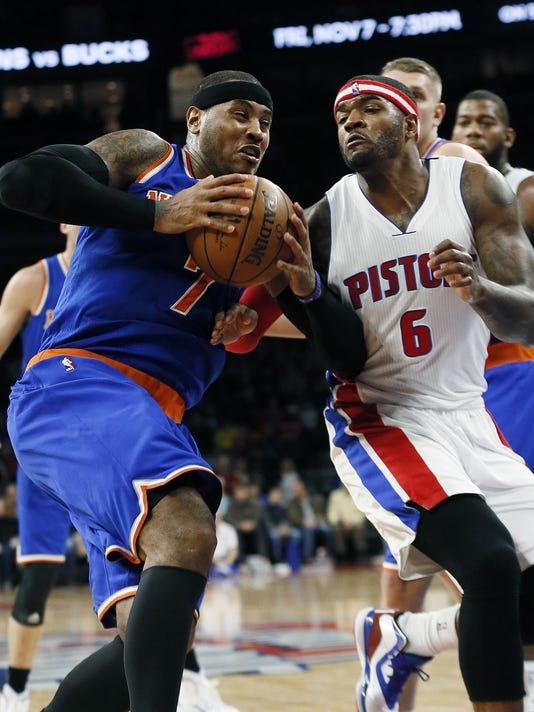 Knicks Pistons Basketball
