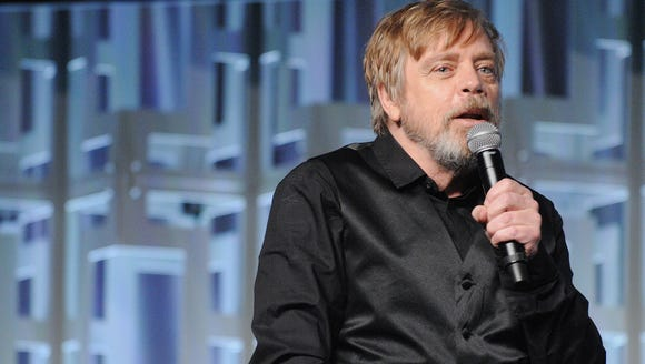 Mark Hamill digs his Jedi beard, though his wife might