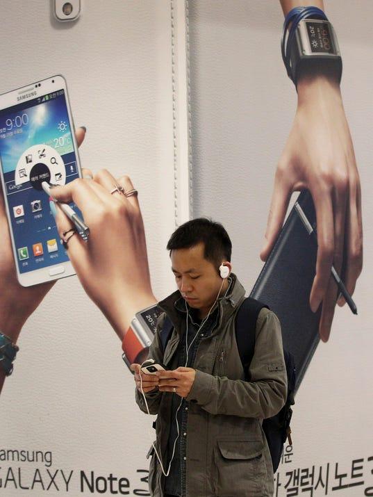 AP South Korea Earns Samsung Electronics