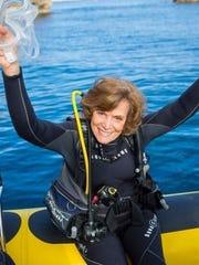 Oceanographer Sylvia Earle