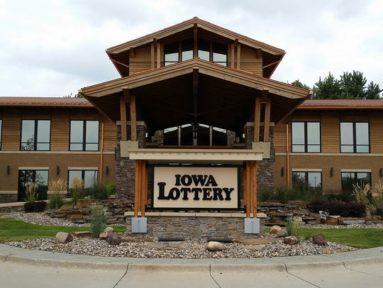 Iowa Lottery headquarters in Clive