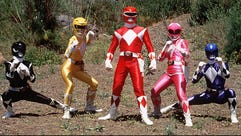"Characters from ""Mighty Morphin Power Rangers"" kids"