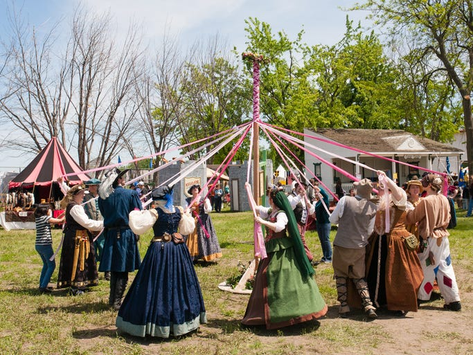 The scene from last year's Siouxland Renaissance Festival.