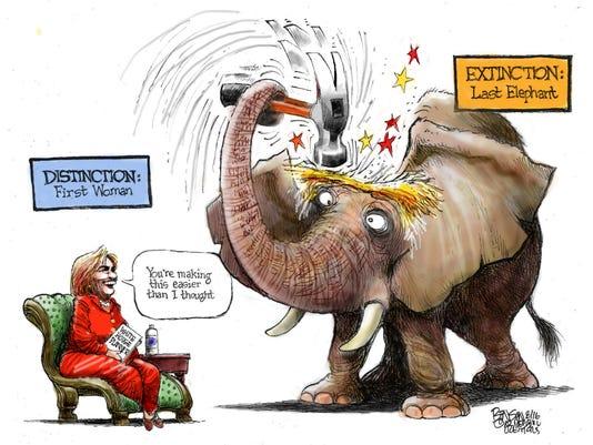 Distinction vs. extinction