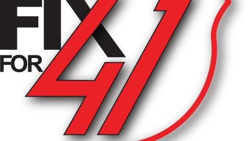 'Fix for 41' logo