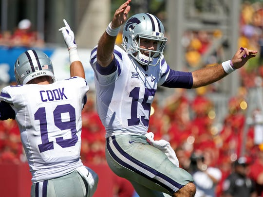 Former Kansas State quarterback Jake Waters has been hired to work as a graduate assistant at Iowa State.