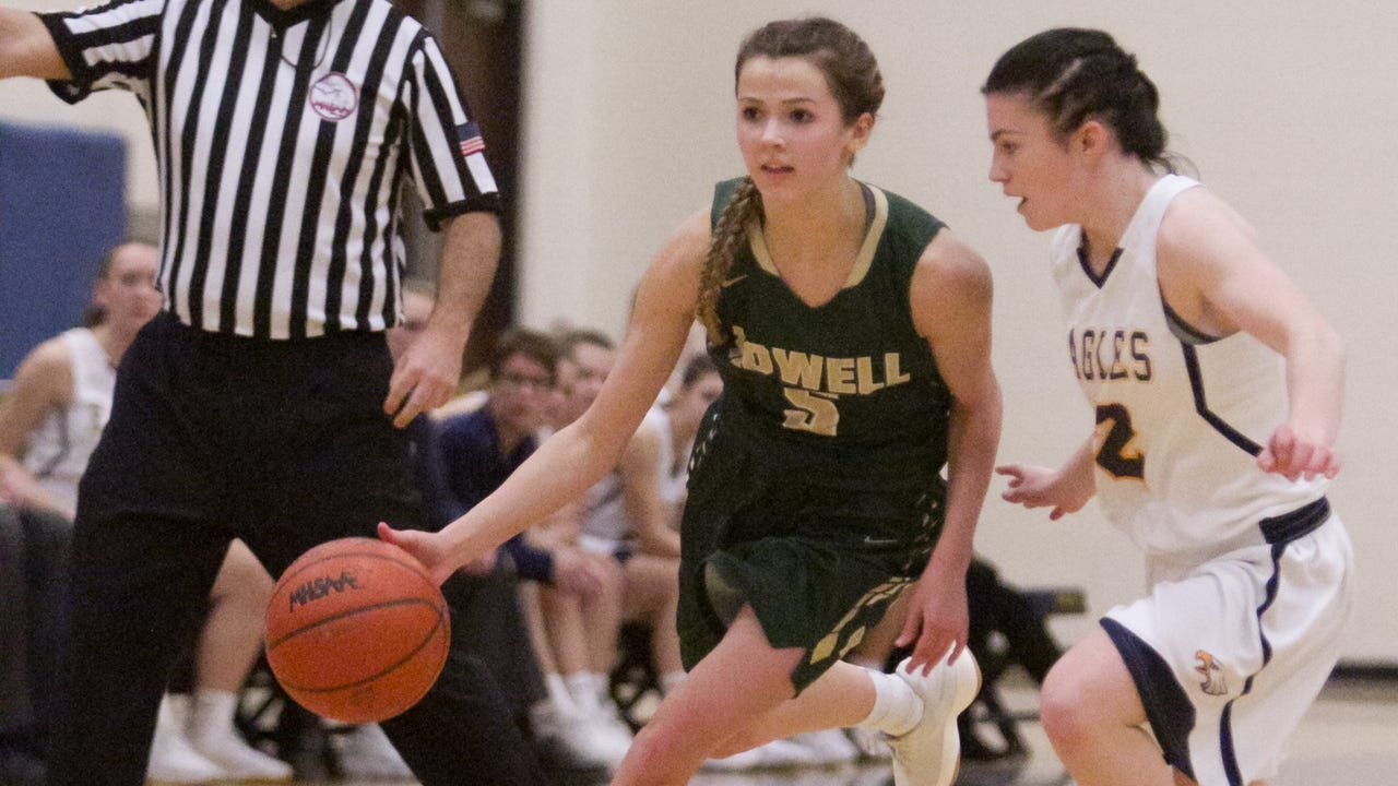 Highlights and interviews from Howell's 48-42 overtime victory over Hartland in a matchup between Livingston County girls' basketball rivals.
