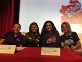 See the love: Ten seniors in North Fort Myers signing day ceremony
