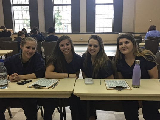 Polytech team places second at Rutgers veterinary science competition