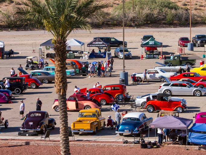 2017 Super Run car show at CasaBlanca Resort in Mesquite,