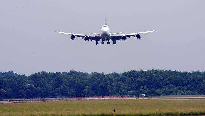 A report says that air travel  could double by 2035, but the industry needs to invest in infrastructure to keep up with the demand.