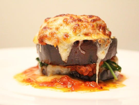 Eggplant Lasagna by Remarkable Food catering company.