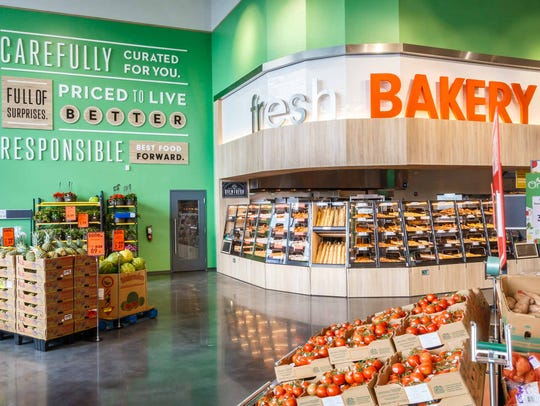 The Lidl bakery offers a selection of fresh baked breads