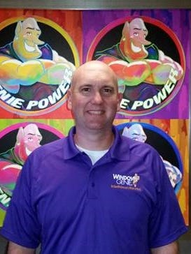 Pete Wilson, a Marine Corps veteran who graduated from Lakota High School, recently is opening a new Window Genie franchise in West Chester.