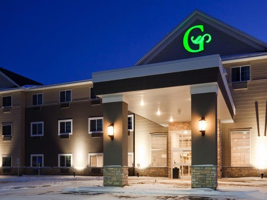 grandstay hotel exterior