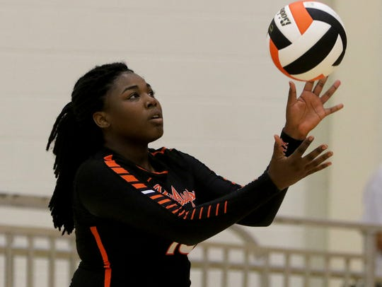 Jade Hickman is one of the top returnees in Burkburnett as the Lady Bulldogs get ready for what they expect will be a tough district race in 2018.