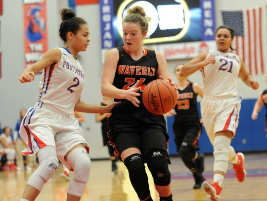 Waverly girls basketball finished 8-12 last season, but return their leading scorer in Zoiee Smith.