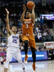Texas came up short against TCU in a battle between