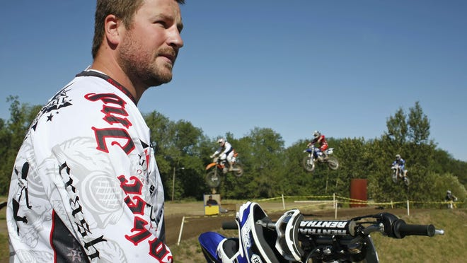 Dave Turner prepared for his first X Games in 2010