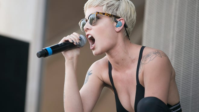 Halsey performs at the Austin City Limits Music Festival in Zilker Park on Sunday October 11, 2015.  JAY JANNER / AMERICAN-STATESMAN