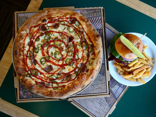 The Seattle Sriracha Stewie from The Social Pizzeria