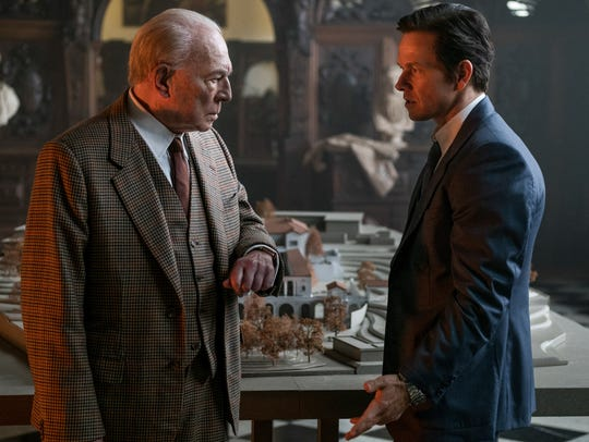 Christopher Plummer (left, with Mark Wahlberg), in