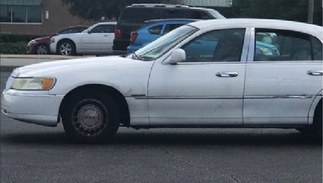 Investigators are trying to locate a vehicle or the owner of the vehicle which is involved in a sexual assault that occurred on August 23, 2018 in the 3800 block of Atlanta Highway.