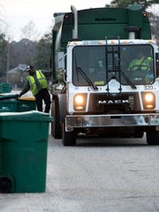 Hendersonville's new garbage service is provided by Waste Pro.