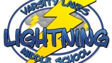 Varsity Lakes Middle School logo.