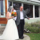 Father learns to walk again to walk daughter down the aisle