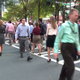 Jaywalkers who work or visit uptown Charlotte have been warned: police are prepared to hand out tickets with fines costing hundreds of dollars to anyone crossing when or where they aren't supposed to.