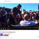 A YouTube video shows a mass baptism at Villa Rica High School from August 17th.