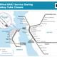 Modified BART service during Labor Day weekend