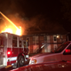 Firefighters battle heavy flames at Providence Manor Aparments in Rural Hall.