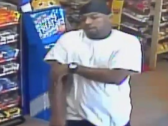 """This man pictured is a """"person of interest"""" in a string of residential burglaries in Haughton."""